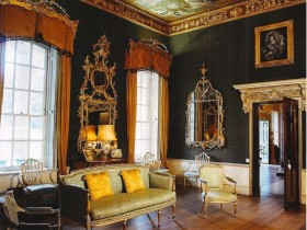 English style in interior room
