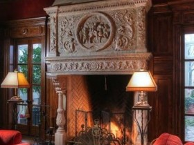 The Victorian fireplace