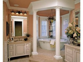 The idea of bathroom design