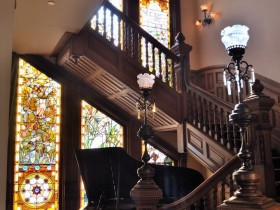 Staircase Victorian style