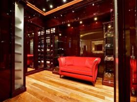 The interior hallway