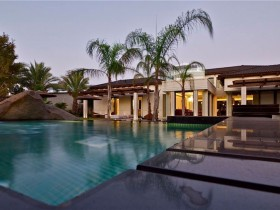Huge pool on site (another type)