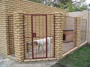 Строим вольер для собак своими руками