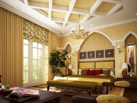 Modern Arabic interior style