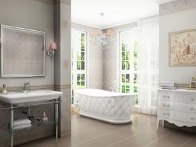 Розкішна ванна в стилі Ренесанс