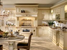 Кухня интерьера Ренессанс