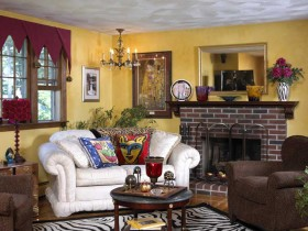 Elements of the revival style eclectic