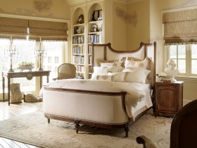 Modern bedroom design in conjunction with the Renaissance