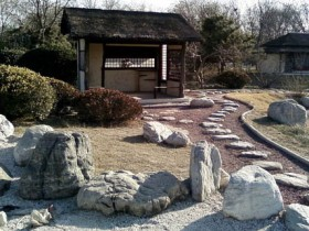 Japanese rock garden – the mystery of the mysterious symbols of nature +38 photo