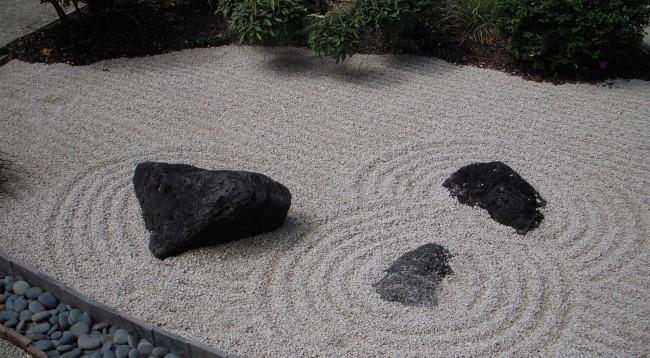 Обустройство каменного сада