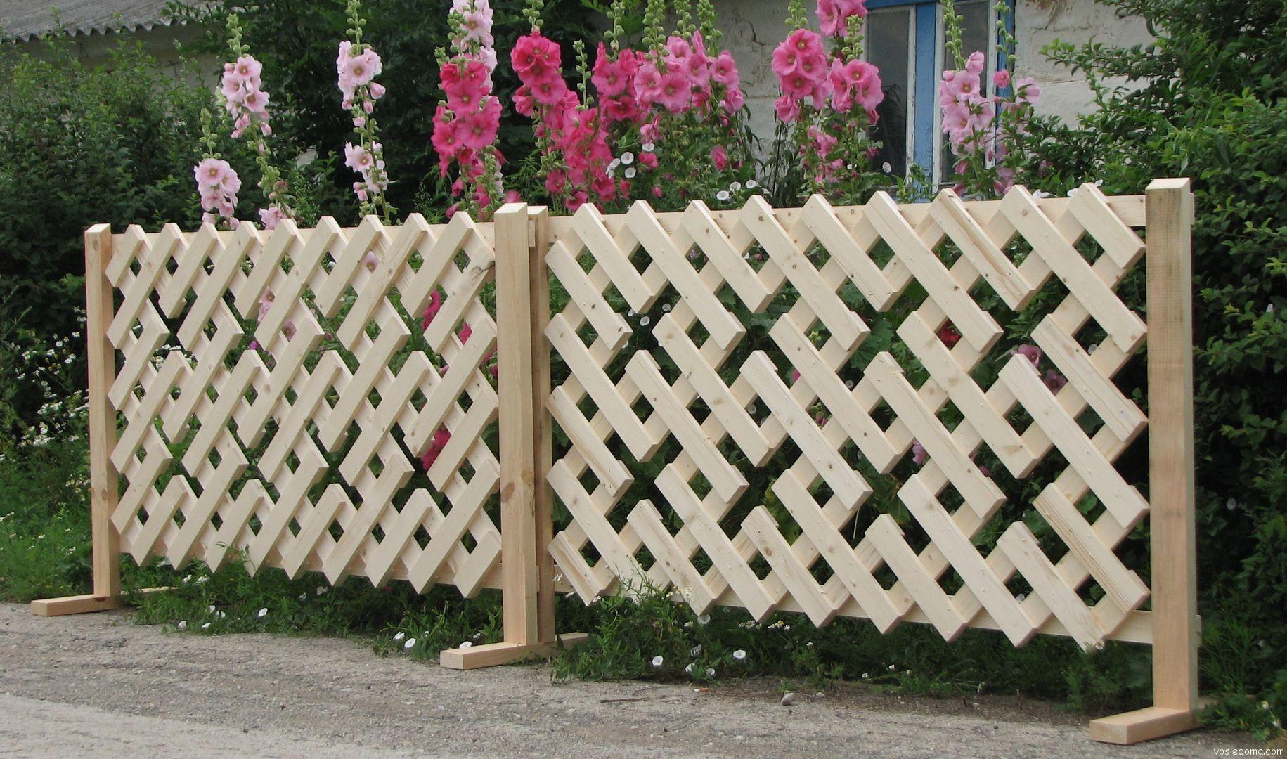 Как сделать красивый забор своими руками фото