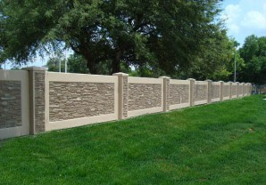 How to make concrete fence blocks, plates and eurofences their hands?