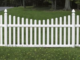 Wood fenced