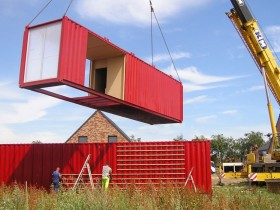 Creating a home from containers