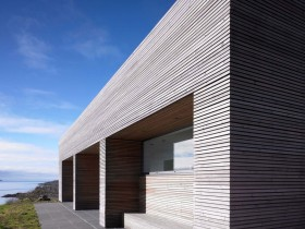 Фасад загородного дома (другой вид)